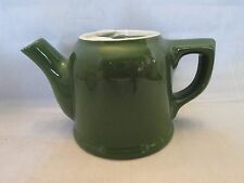Hall Forest Green Individual Tea Pot