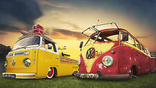 A3 SIZE - VW CAMPER VAN CAR 1 POPULAR  GIFT / WALL DECOR ART POSTER