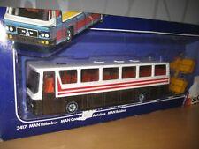 Siku 3417 MAN Reisebus Braun Version 2 aus 1984 - 1985 TOP OVP