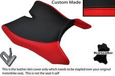 ROSSO & NERO accoppiamenti personalizzati Motohispania RX 125 R 09-14 anteriore in Pelle Coprisedili