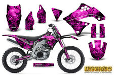 KAWASAKI KXF450 KX450F 09-11 GRAPHICS KIT CREATORX DECALS INFERNO PNP