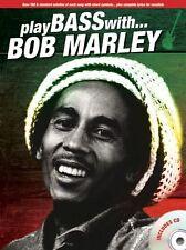 Play Bass With Bob Marley Play Reggae Jammin Guitar TAB Music Book & CD