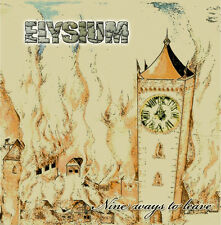 ELYSIUM - Nine Ways To Leave CD