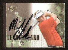 Michael Clark III #98 Leaderboard signed autograph auto 2001 Upper Deck Golf
