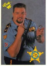 WWE WWF 1990 Classic Series 1 Titan Sports Trading Card - Big Boss Man #103