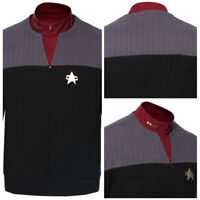 Star Trek Generations Jean-Luc Picard Cosplay Costume Coat Halloween Suit