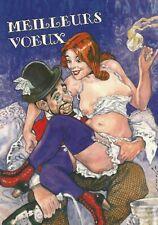 SMUDJA GRADIMIR Toulouse Lautrec CP PERSONNELLE de Voeux 2008 Dessin inédit TL