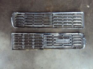 1968 FORD GALAXIE 500 XL / LTD HIDEAWAY HEADLIGHT CAST GRILLE GRILL SET WITH COV