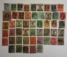 More details for 100 different india pre-independence stamps collection