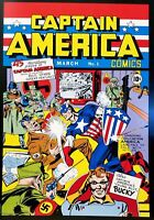 Captain America #1 Jack Kirby 12x16 FRAMED Art Poster Print 1941 Marvel Comics