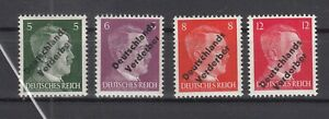 BY7053/ GERMANY – RUSSIAN ZONE – MEISSEN – MI # 31 / 34 COMPLETE MINT MH SIGNED