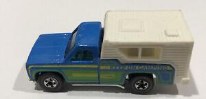 Vintage Hot Wheels Redline Keep On Camping Trucking HOng Kong 1974