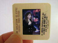 Original Press Photo Slide Negative - Reba McEntire - 1992 - F