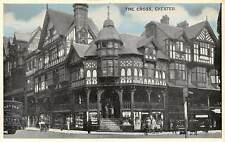 The Cross, Chester, auto, car voiture, commerce, bicycle, bike, animated 1957