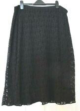 Eileen Fisher jupe couleur noir avec doublure-Taille 3X