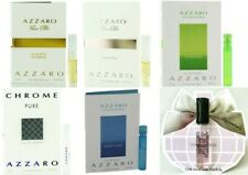 AZZARO COLOGNE PERFUME FRAGRANCE SAMPLE VIAL 1.5ml .05oz NEW ~Choose Your Scent