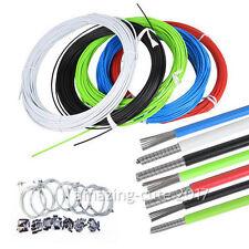 Fahrrad Bremszug Schaltzughülle Bremszughülle Bowdenzug Komplett Kabel 8 Farbe