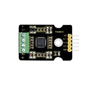 KEYESTUDIO PAM8610 2 X10W Channel Stereo Audio Power Amplifier Board for Arduino