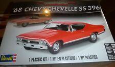 REVELL 85-0445 1968 CHEVY CHEVELLE SS 396 1/25 MODEL CAR MOUNTAIN FS
