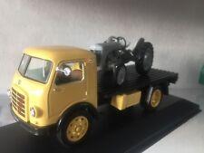#399 Om Leoncino Pianale Carroattrezzi 1959 + Ferguson TE-20 1947 DIE CAST 1:43