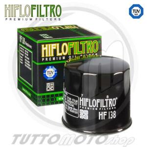FILTRO OLIO HIFLO HF138 SUZUKI GSX-R 750 2006 2007 2008 2009 2010 R750 GSXR
