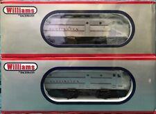 Williams By Bachmann Burlington CB&Q FA2 A/A O Scale Diesel Locomotive Set OOP