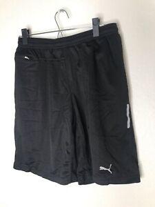 Men's PUMA Hydrolix Athletic Shorts Size Medium (M) Black - Drawstring