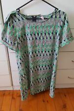 BOHO AUSTRALIA Kaftan Beach Boho Short Dress Long Top size S