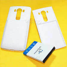 Lot of 11000mAh High Extended Battery Thick Cover Tpu Case For Lg V10 SmartPhone