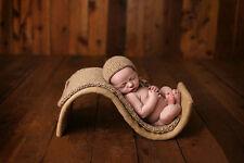 "Newborn Baby ""S"" Shape Basket Photography Studio Photo Props"