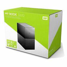Western Digital My Book Duo 16 TB Desktop Hard Drive WD Red USB Type-C SEALED