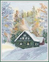 Counted Cross Stitch Kit OVEN - Winter silence