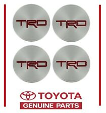 "Toyota TRD Center Cap Set For Off Road Alloy Forged Wheels 17"" PTR45-34071"