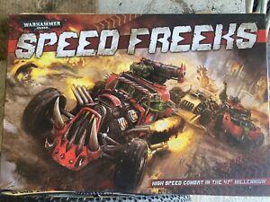 Speed Freeks Board Game Warhammer 40k Orks painted complete