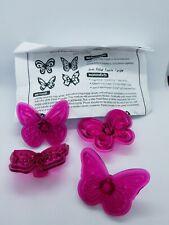 Butterflies Cupcake Tops Set