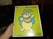 Glo Friends Glo Bug 1985 Hasbro Bradley Inc. MB Puzzle Tray puzzle