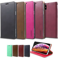 Slim Retro Card Flip Leather Wallet Stand Case Cover For iPhone Xs Max/Xs/XR