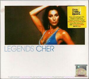 CHER Legends 2005 MALAYSIA EDITION DIGIPAK CD RARE NEW CLUB/DANCE / SOFT ROCK