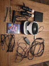 Ps4 Vr Brille Set mit Kamera und 2 Move Controller