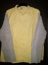 Kevlar Welding Jacket with Leather Sleeves - - XLarge