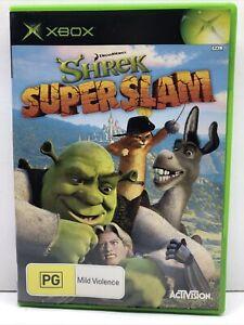 Shrek Super Slam XBOX Original PAL Complete Fast Safe Shipping Tracking