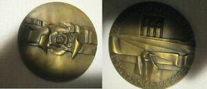 antica medaglia BRONZO EMANCIPAZIONE DONNA 1973 ANTIQUARIATO COLLEZIONISMO