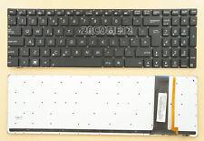 New for ASUS N76VB N76VJ N76VM N76VZ Keyboard UK Backlit