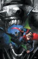 BATMAN SUPERMAN #1 CRAIN VIRGIN VARIANT DC COMICS 2019 BATMAN WHO LAUGHS W/COA