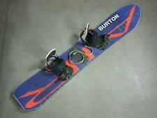 Vintage 1990 Burton Air Snowboard Original Freestyle Bindings Collector Set