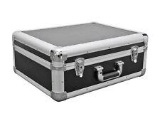 DJ LP Aluminium Deck Turntable Storage Flight Carry Case Black Light Weight HQ