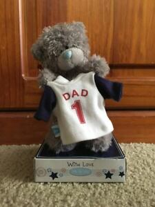 """~ ME TO YOU ~ Tatty Teddy ~ """" No.1 Dad """"Bear ~ Fathers Day ~ 6 inch ~ New ~"""