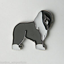 OLD ENGLISH SHEEPDOG SHEEP DOG LAPEL PIN BADGE 3/4 INCH