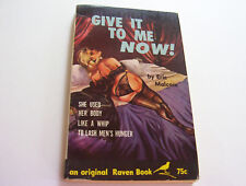 GIVE IT TO ME NOW!   1962  ERIC MALCOM   SHE COULDN'T GET IT DEEP ENOUGH   VG
