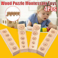 4PCS Wooden Puzzle Toys Child Baby Memory Match Jigsaw Puzzles Board Gifts
